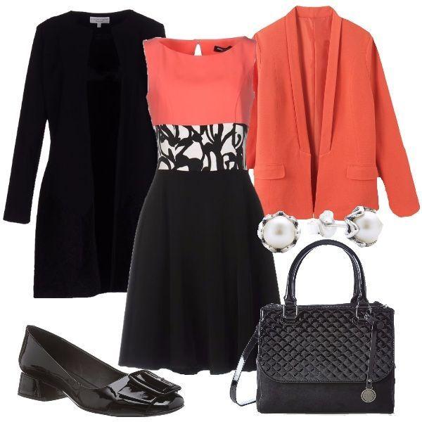 Vestito nero di pelle neroth