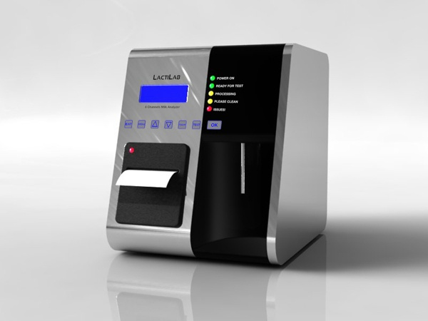 Milk Tester by Irina Alexandru/ AIRA design studio , via Behance