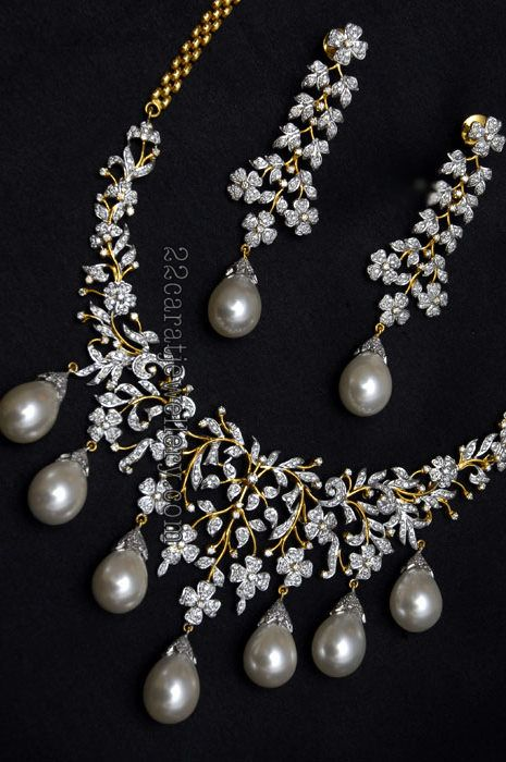 Diamond Sets By Vasundhara Jewellers | Jewellery Designs