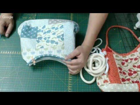 Patchwork Ao Vivo #45: bolsa de patchwork para ir ao cinema... - YouTube