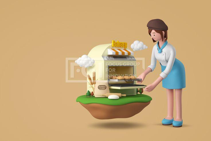 FUS161, 프리진, 그래픽, 사람, 3D, 입체, 입체적인, 입체효과, 비주얼, Create, 캐릭터, 인물, 직업, 에프지아이, 배경, 백그라운드, 편집포토, 창조, 1인, 귀여운, 여자, 제빵사, 베이커, 빵, 제과, 빵집, 오븐, 밀가루, 맛있는, 음식, 구름, FUS161a, graphic, graphics  #유토이미지 #프리진 #utoimage #freegine 20101671