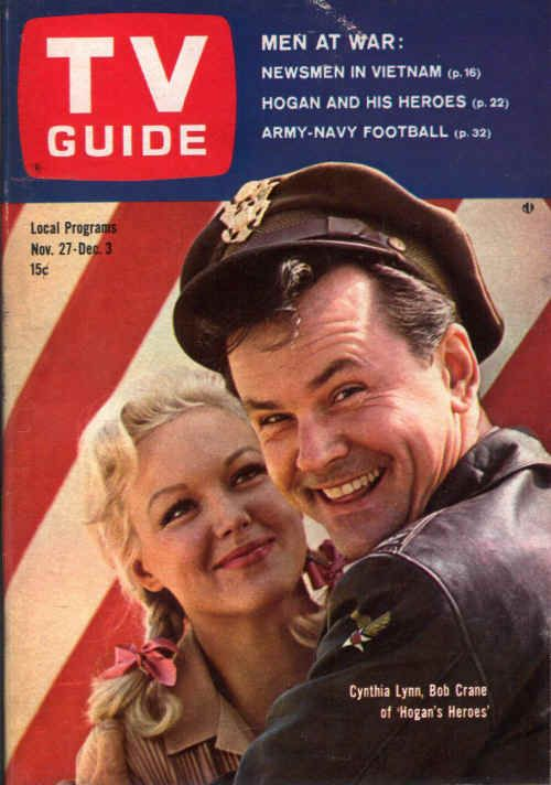 """""""With an improbable premise and an unlikely star, """"Hogan's Heroes' is marching to TV popularity"""" - TV Guide November 27, 1965 - December 3, 1965"""
