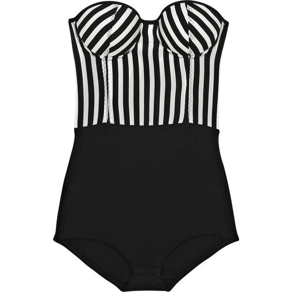 Rosa Chá Striped strapless found on Polyvore. Love this, just wish I could find one just like it, but with straps....