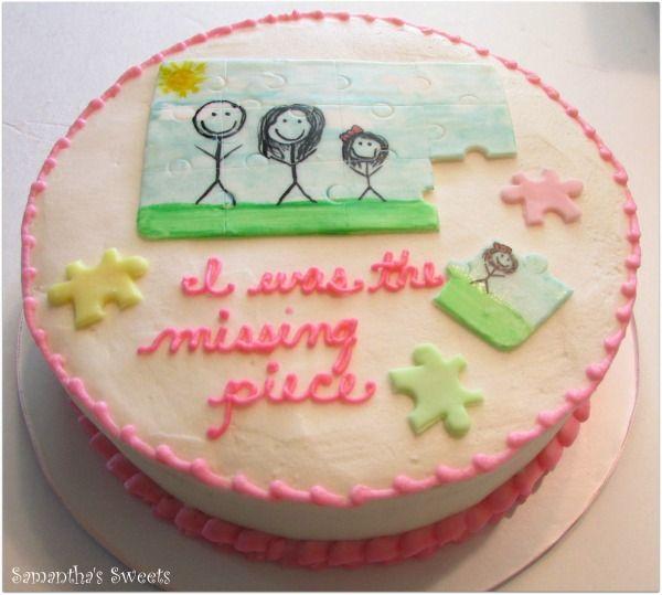 Best 25+ Adoption Cake Ideas On Pinterest
