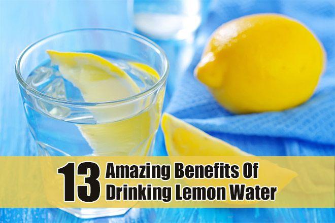 13 Amazing Benefits Of Drinking Lemon Water