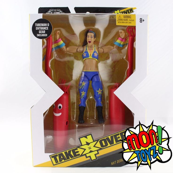 Elite Collection Bayley Action Figure NXT Takeover Target Mattel WWE Exclusive  | eBay