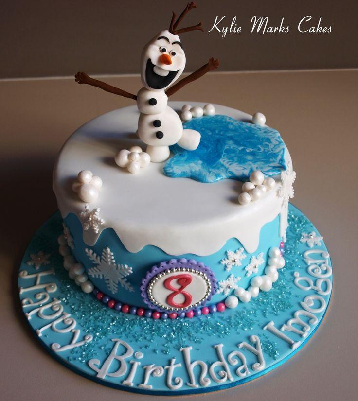 Frozen cake - Olaf