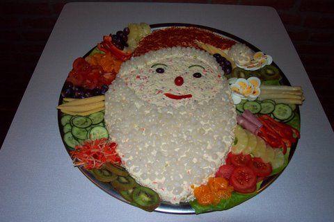 leuk idee voor kerstdiner op school van de kinderen.Hier willen ze allemaal wel een hapje van.