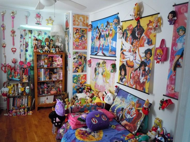 198 best images about anime room decor on pinterest for Anime themed bedroom ideas