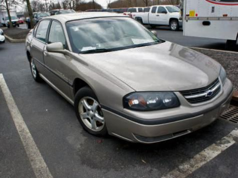 2003 Chevrolet Impala LS sedan in New Jersey — $1000