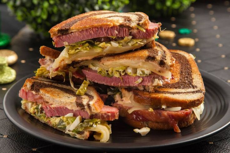 The focus is kept on the party with these innovative St. Patrick's Day recipes. Update the old Reuben Sandwich with a tangy Brussels sprout slaw. In addition to beer, shake it up with Shamrock Shake Pudding Shots, Irish Whiskey Jello Shots and end with Chocolate Stout Snack Cakes for dessert. Read More
