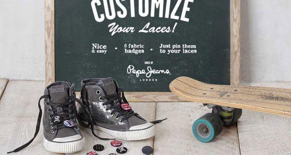 Pepe Jeans affronta il Back to School con le sneakers personalizzabili