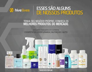HIVE LIVES - RIO DE JANEIRO - BRASIL: HIVE LIVES - SAÚDE / PRODUTOS DE BELEZA / LIMPEZA ...