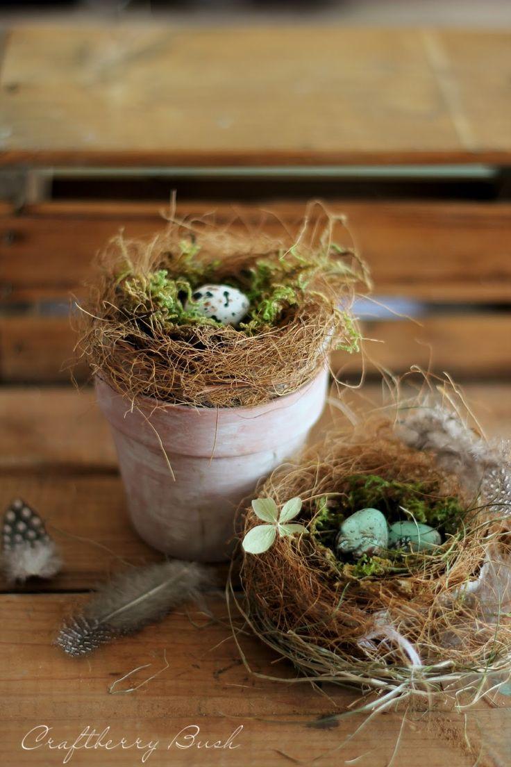 Craftberry Bush: Making a Realistic Bird's Nest