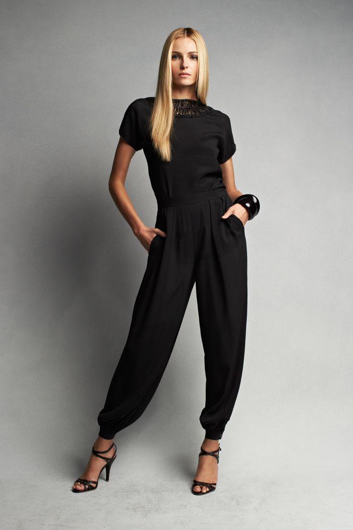 Best 25+ Casual black jumpsuit ideas on Pinterest | Women ...