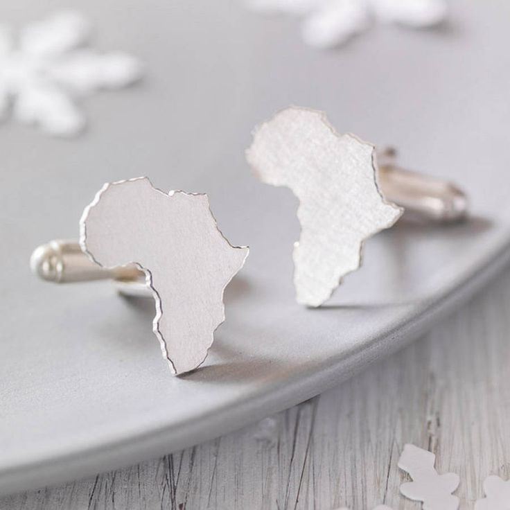 Personalised Country Cufflinks from notonthehighstreet.com
