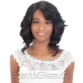 Vivica Fox Brazilian Virgin Remi Human Hair Swiss Lace Front Wig Delilah