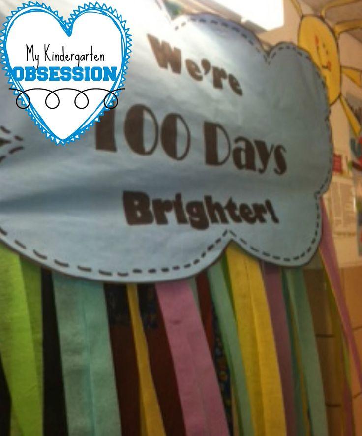 100th Day Celebration in Kindergarten!