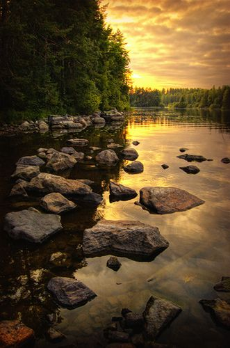 ~~Steps ~ clould reflections at sunset in Kuopio, Finland by Antti-Jussi Liikala~~