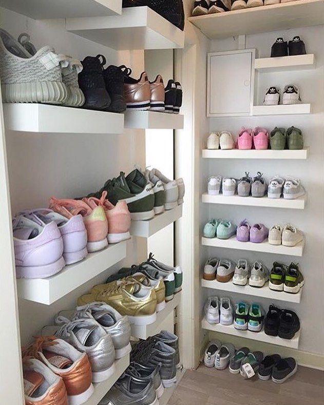 Un dressing pour mes chaussures!!