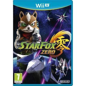 [NINTENDO] Jeu Wii U : STARFOX ZERO. 45,00 € (Prix moyen neuf).