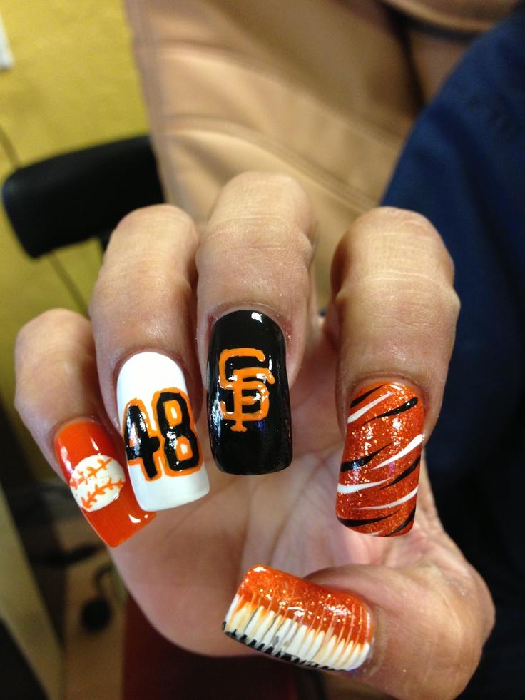 35 best NFL NAIL ART images on Pinterest | Football nails, Football ...