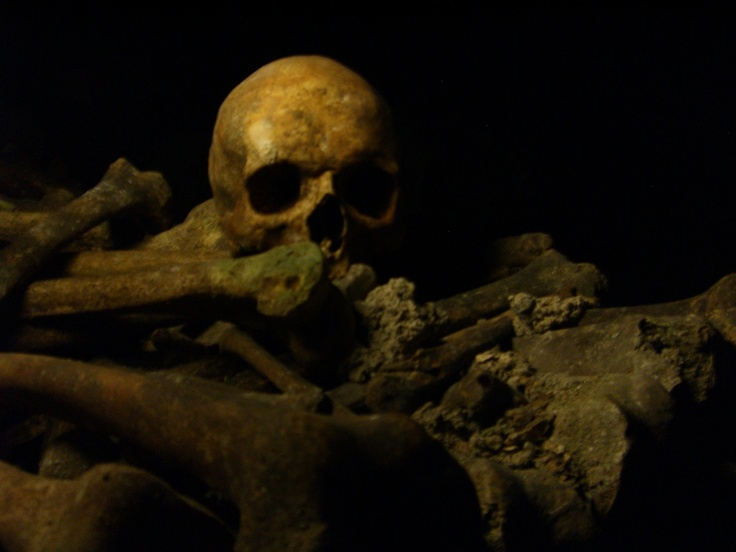 Catacombs under Paris- one of my most favorites places in paris