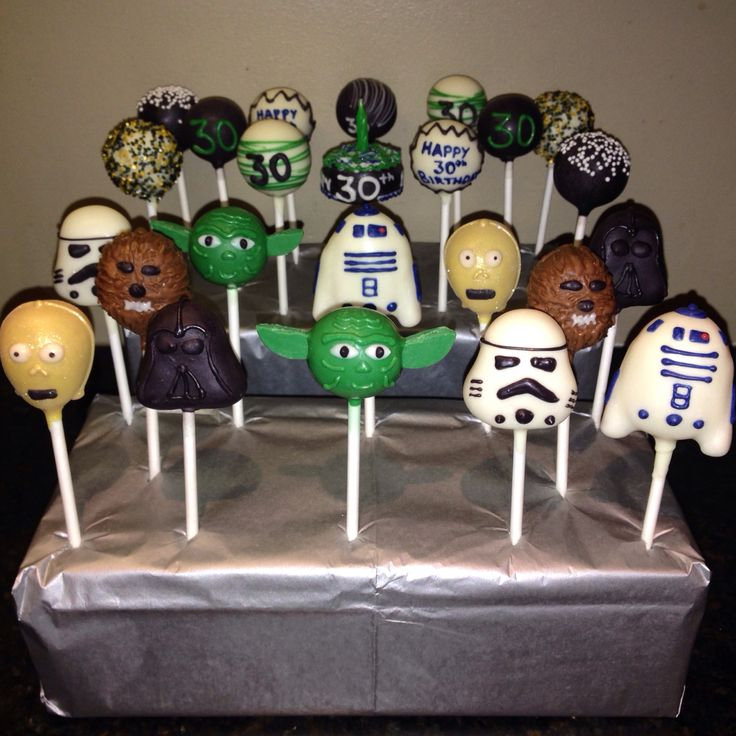 Star Wars Cakepops!