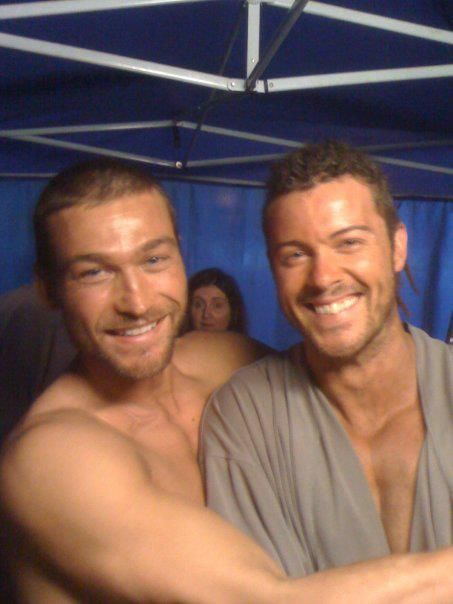 God it's so sad seeing Andy now...just look how sweet he was. We'll always love you, Andy! #Spartacus #AndyWhitfield #DanielFeurriegel