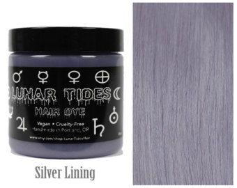 Slate Grey Hair Dye by LunarTidesHair on Etsy