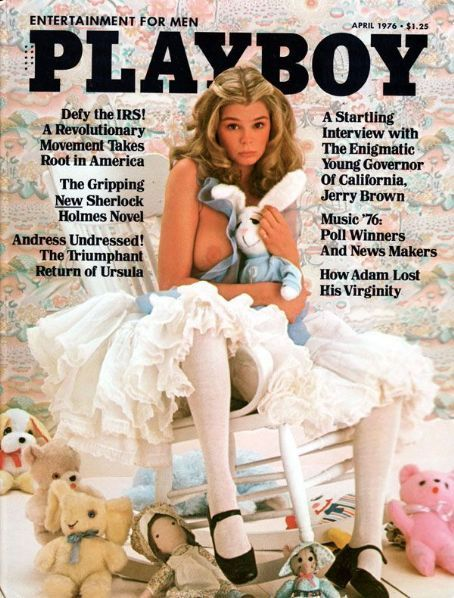 Kristine DeBell - Playboy Magazine [United States] (April 1976)