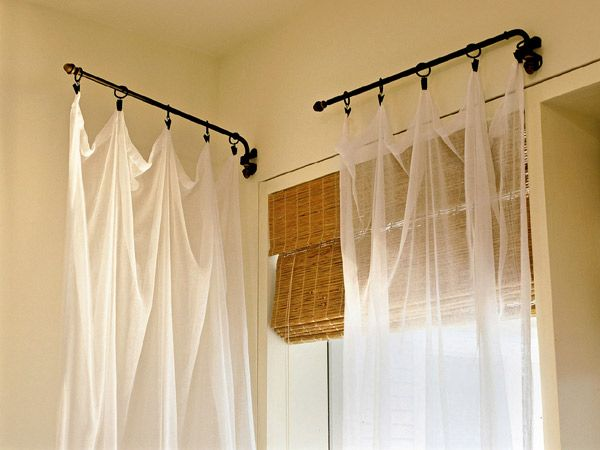 17 Best Ideas About Shower Curtain Rods On Pinterest Curtains Curtains For Bedroom And Patio