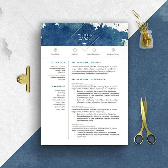 14 Incredible CV Templates For Every Job Type | Career Girl Daily