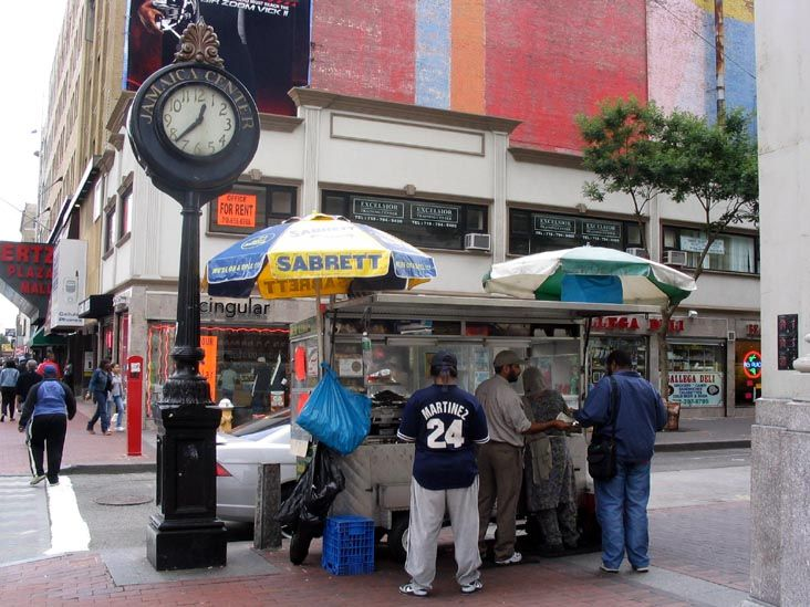 Eat a hot dog from a street vendor in NY.  Rent-Direct.com - Apartments for Rent in New York - With No Broker Fee.