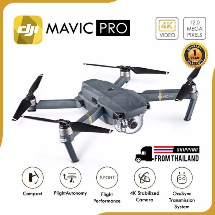 DJI Mavic Pro Bird Size Smart Drone 4K Camera GPS Glonass Super Distance 7 KM