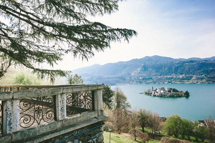 Orta Lake, the most romantic lake of the world, San Giulio Island di ItalyFineArt su Etsy