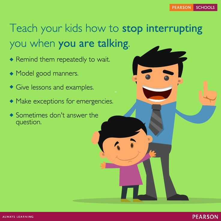 Kids are curious and impatient. It gets frustrating when your child constantly interrupts you. Here are some strategies to work with the interrupting child.