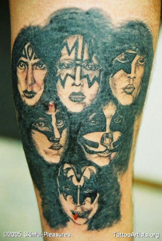 Kiss Tattoo Designs Kiss Band Tattoo Designs   KISS ...