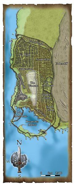 Waterdeep map | Fantasy map maker in 2019 | Fantasy map maker