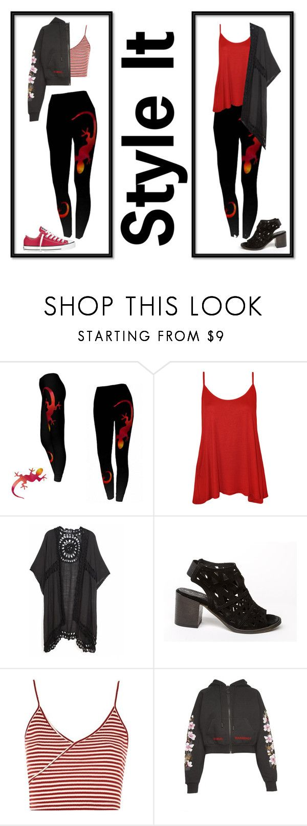 """""""Lizard Leggings by Whimzingers"""" by whimzingers ❤ liked on Polyvore featuring WearAll, Do Everything In Love, Topshop, Off-White, Converse, etsy, Leggings, fashionset and whimzingers"""