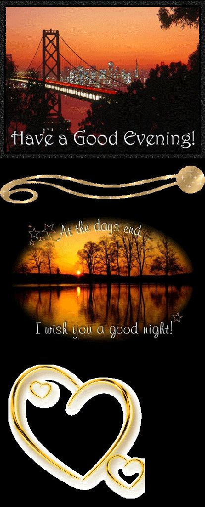 Good Evening Comments, Graphics and Greetings Codes for Orkut, Friendster, Myspace, Tagged