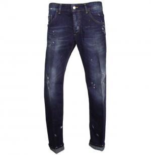 JEANS LABEL ROUTE LAVAGGIO SCURO  LABELROUTE | Pantaloni e jeans | LAB 133