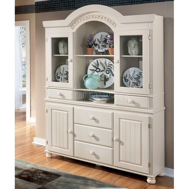 white dining room buffet
