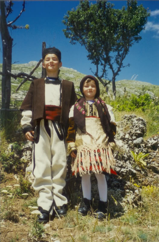 MACEDONIA in traditional dress