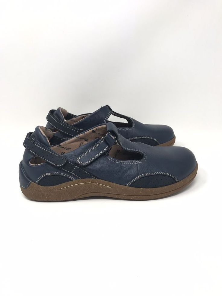 Details About Women S Barefoot Freedom Drew Florence T Strap Blue Leather Orthopedic Shoes 9m My Ebay Barefoot Orthopedic Shoes Ebay Shoes Shoe Recipe
