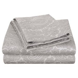 600 Thread Count Sheet Set in Grey