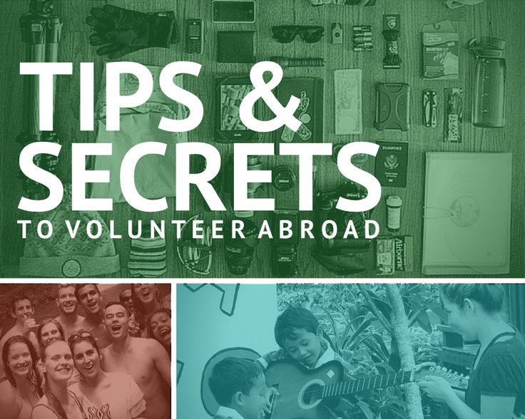 Volunteering abroad? Don't leave home without these #traveltips from our IVHQ volunteers!