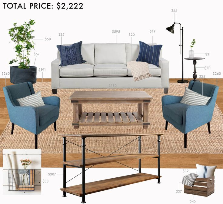 Budget Living Room: Modern Farmhouse Posted By Emily Henderson Part 15