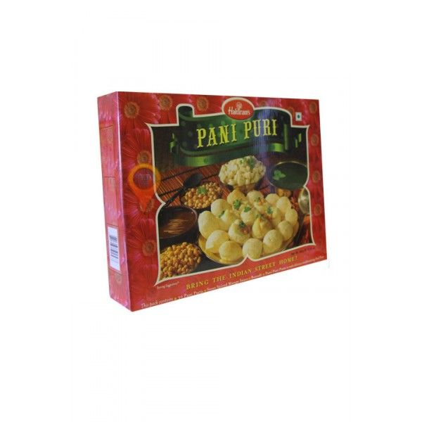 Pani Puri is a very popular street snack in India. Haldiram's Pani Puri consist of hollow, crisp fried balls made up of semolina and wheat flour and comes with spice paste and chutney. #coconut oil, #online shopping, #supermarket, #order food online, #dublin tourism, #markets in dublin, #shopping online,  #asian market dublin, #olive oil, #groceries, #grocery, #baby food, #sweets online, #rice flour, #organic coconut oil, #baby wipes, #sunflower oil, #grocery store,  #supermarkets, #baby…