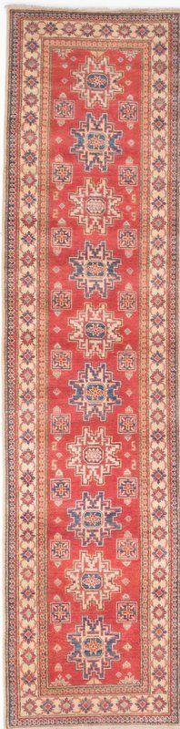 ECARPETGALLERY Gazni Hand-Knotted Brown/Red Area Rug   Wayfair